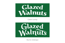 B&A Glazed Walnuts